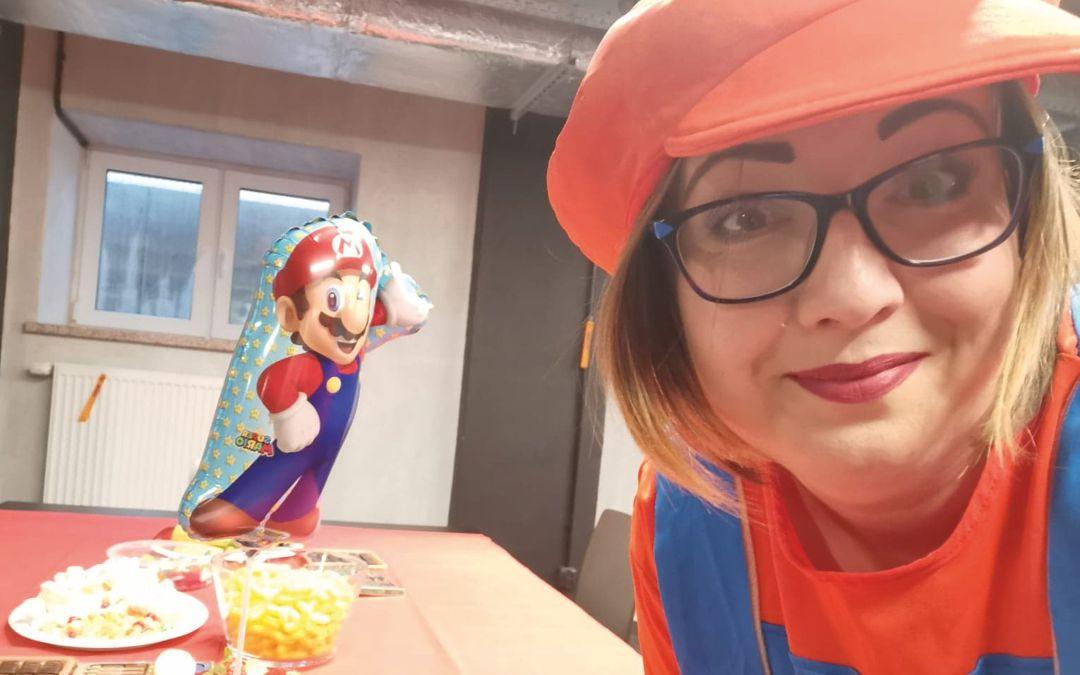 Urodziny z Super Mario Bros